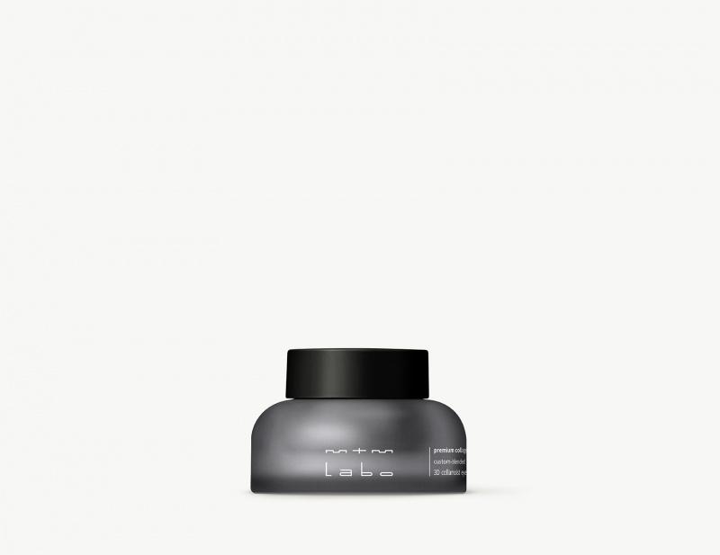 custom-blended 3D collamoist eye cream