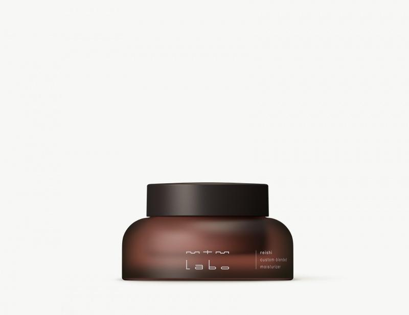 custom-blended reishi moisturizer